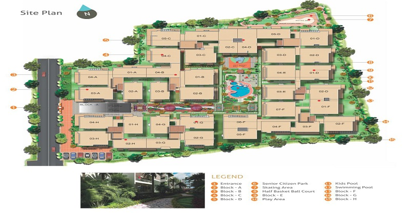 Amrutha-Value-Site-Plan