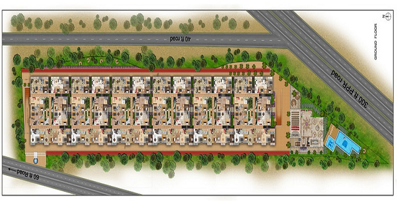 Dhruthi-Tranquil-Towers-layout-plan