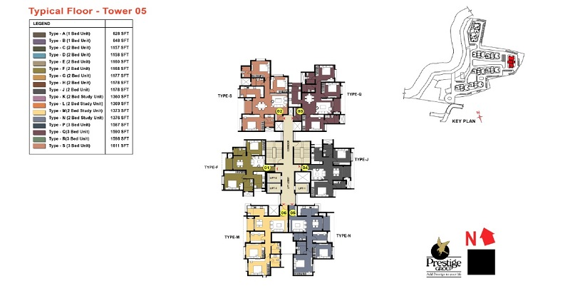 Prestige-Temple-Bells-Tower-5-Plan