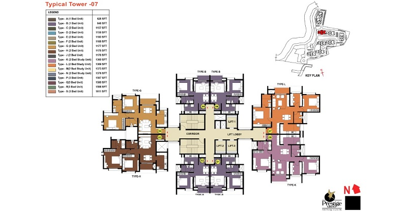 Prestige-Temple-Bells-Tower-7-Plan