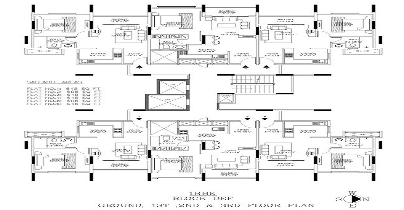 Shriram Signia apartments near Electronic City in Bangalore-floor-plan