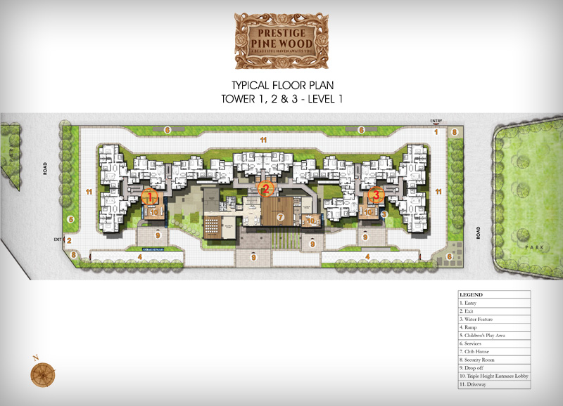 Prestige Pine wood floor plan 1