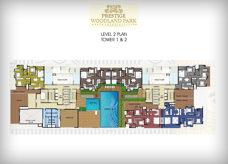 Pre launch Prestige Woodland Park floor plan2