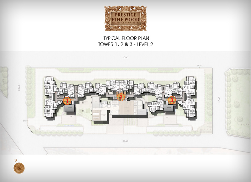 Prestige Pine wood floor plan 2
