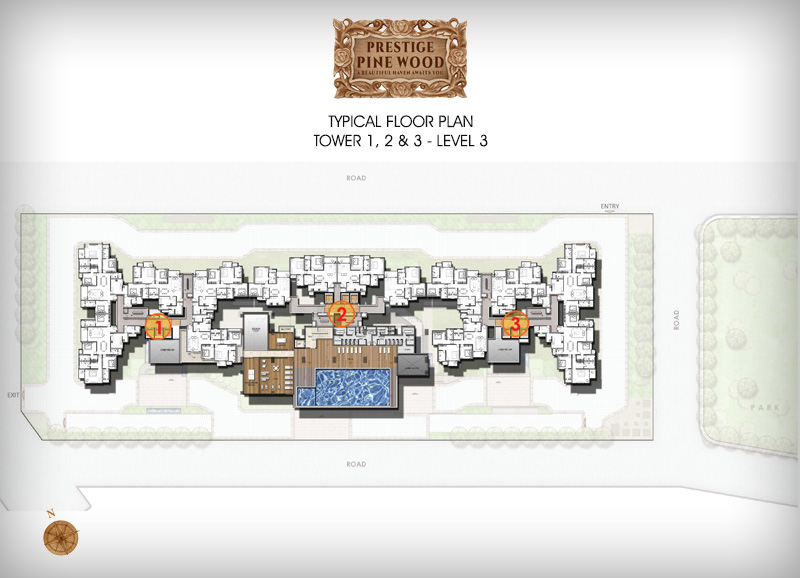 Prestige Pine wood floor plan 3