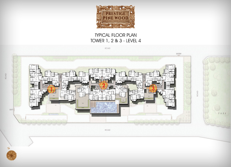Prestige Pine wood floor plan 4