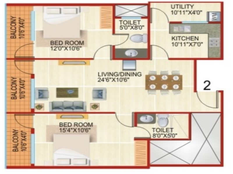 Ashish JK Apartments Pre Launch homes Floor Plannning